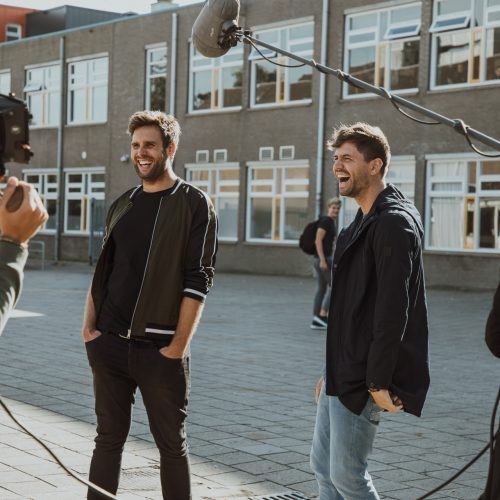 nick en simon mum van tijd behind the scenes