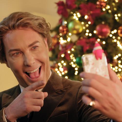 Rogier Smit maakt een selfie